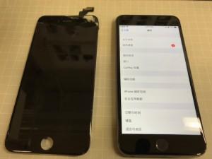 Iphone6+ ガラス破損
