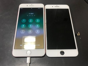 iphone7+ ガラス液晶修理