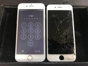 iphone6S ガラス破損