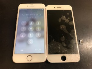 iphone7plus 画面破損
