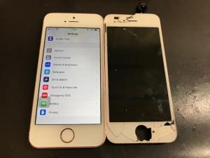 iPhoneSE 液晶