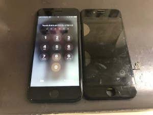 iPhone8 液晶修理 191220