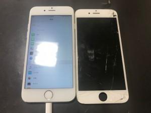 iphone6s ガラス破損 191220