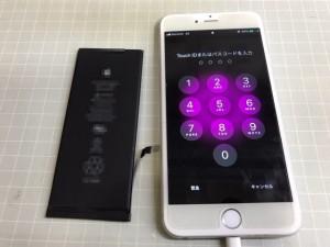 iPhone6+ バッテリー