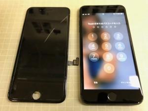 IPHONE7+ ひび割れ