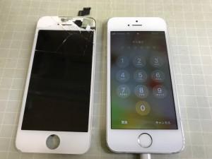 iPhoneSE 重度破損