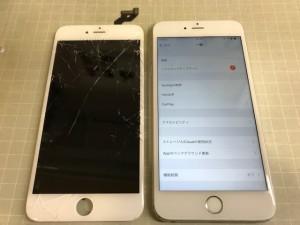 iPhone6S+ 液晶表示異常