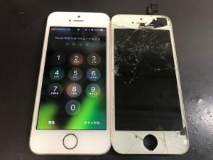 iPhone5S 液晶破損