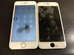 Iphone8 画面破損修理
