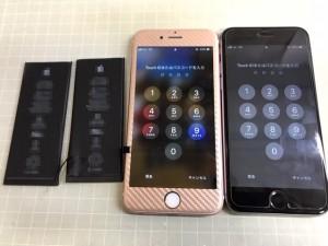 iPhone6S ペア電池交換