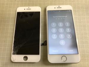 iphone7 液晶表示不良
