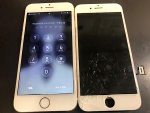 iphone7 画面割れ