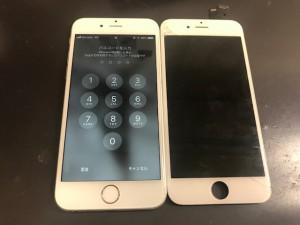 iPhone6 パネル交換