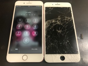 iphone8 ガラス