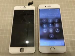 Iphone6S 表示不可
