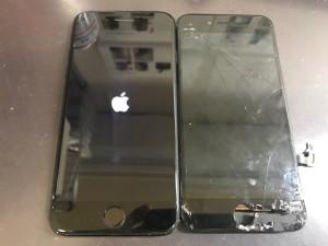 iPhone7 ガラス破損