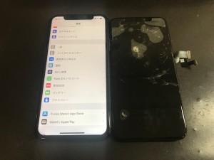 iPhoneXS タッチ不良修理