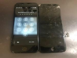 iphone8+ 画面