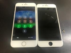 アイフォン6 ひび割れ