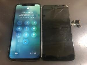 iPhoneX タッチ不良