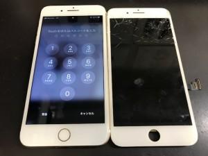 アイフォン7plus 画面