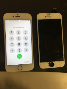 iphone6s screen broken190901