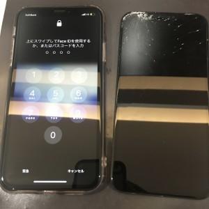 iPhone XR 画面交換修理完了