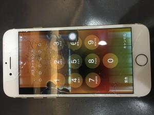 iPhone7 画面重度破損