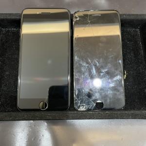 iPhone8 画面交換修理で復活しました!!!