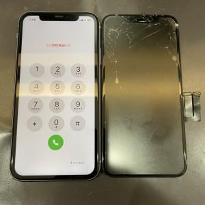 iPhone11 画面交換完了!!!