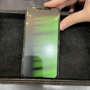 iPhone X グリーンスクリーン?!