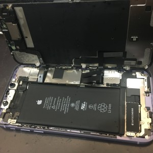 iPhone11水没