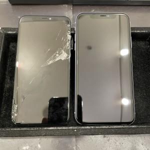 作業時間30分 京都最安最速iPhone修理