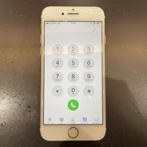 iPhone7 画面割れ液晶交換京都最安値 最短30分から