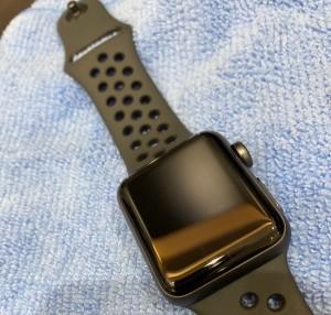 Apple Watch ガラスコーティングでしっかり守る!!!