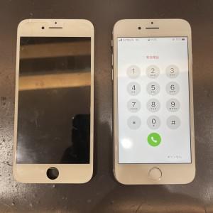 iPhone 8 画面修理 京都・四条河原町最安値