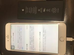 iPhone6pバッテリー
