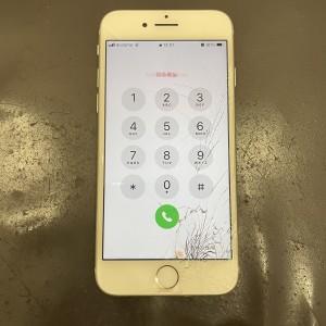 iPhone8 画面修理 最短30分 河原町最安値