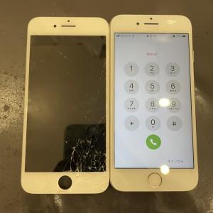 iPhone8 画面修理 京都最安値 データそのまま 30分