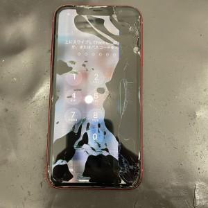iPhone11 液晶漏れ 画面修理 河原町iPhone修理